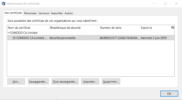 Certificat e-mail gratuit ajout thunderbird 4