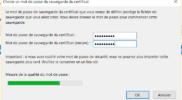 Certificat e-mail gratuit récupération certificat 4