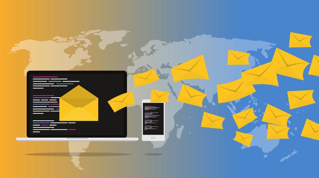 e-mails PC portable