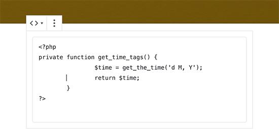 Ajouter du code à votre blog